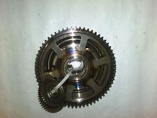 e4. Yamaha YZF R6 RJ03 Alternator Rotor Pole Wheel + Starter Clutch