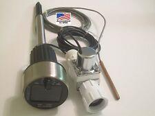 Automatic Garden Watering Timer Controller System Soil Moisture Sensor + Solar