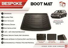 For VW GOLF MK6 2008-2013 Tailored Rubber Boot Fitted Mat Dog Tray 3/5 DOOR