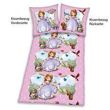 Sofia die Erste 3er Motiv übereinander Bettwäsche Baumwolle 135/200 Neuware