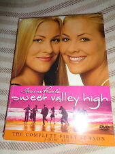 NEW 3 DVD Francine Pascal's SWEET VALLEY HIGH The COMPLETE FIRST SEASON Series 1
