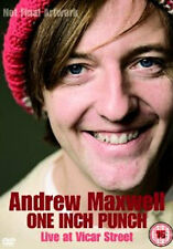 ANDREW MAXWELL ONE INCH PUNCH LIVE AT VICAR STREET - DVD - REGION 2 UK