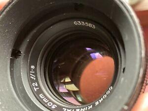 Taylor Hobson Cooke Kinetal 50mm f/1.8 lens Arri Standard Mount VERY RARE