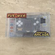 Micro Arcade Pac-Man Full Color Screen New In Sealed Package