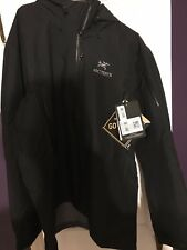 New Men's Arcteryx Theta AR Jacket -  X-Large Black New Gore Tex Brand NWT $625