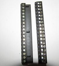 Terminal block strip connectors,Riacon,18 Position/screw & plug,5 pcs