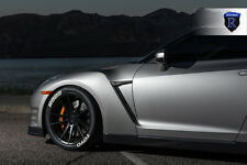 20x9 20x11 +28 Rohana RF2 5x114.3 Black Wheel FIt Nissan GTR R35 2011 STAGGERED
