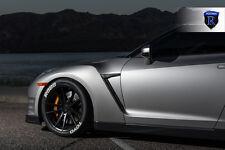 20x9 20x11 +28 Rohana RF2 5x114.3 Black Wheel FIt Nissan GTR R35 2011 STAGGERED