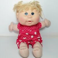 Cabbage Patch Kids doll baby Blonde hair