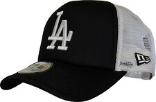 LA Dodgers New Era Clean Trucker Black Cap