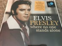 Elvis Presley Where No One Stands Alone Pink Vinyl LP NEW Gospel LIMITED ED