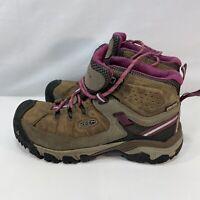 Women's Keen Targhee III Waterproof Mid Hiking Trail Shoes Sneakers Size 7.