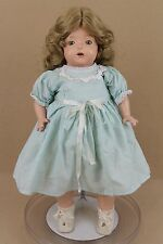 """19"""" antique composition cloth 1920s Madame Hendren Mama baby Doll Made in USA"""