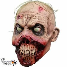 *Adult Rotten Gums Zombie Walker Walking Horror Dead Halloween Latex Head Mask*