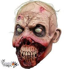 Adulto Horror Zombie Podrido Encías Muerto Halloween Walker caminando cabeza Máscara De Látex