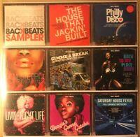 "Backbeat Promotional Sampler CD - 8 House Jazz-Funk Soul Disco tracks ""as new"""