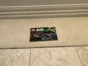 Lego Star Wars Mandalorian speeder, 75022. Used set comes with manual.