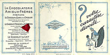 44 NANTES CHOCOLAT AMIEUX FRERES POISSON PUBLICITE