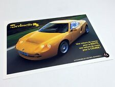 2000 Hommell Berlinette RS Information Sheet Brochure - French