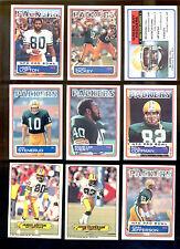 1983 Green Bay Packers Set LYNN DICKEY JAMES LOFTON JAN STENERUD PAUL COFFMAN