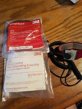 3M Heel Grounding Assembly, Grounding Fabric Wrist Band With Cord, Additional.