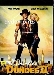 Crocodile Dundee 2 II DVD Paul Hogan Brand New and Sealed Australian Release