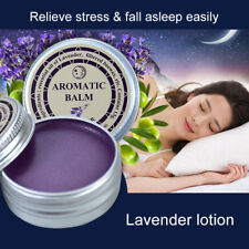 Lavender Aromatic Balm Help Sleep Soothing Cream Essential Oil Insomnia Care HOT