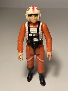 🔥Vintage Star Wars Action Figure 1978 China CCO LUKE SKYWALKER X-WING PILOT