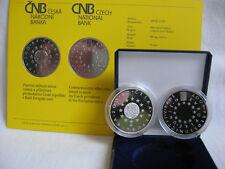 La república checa 2009 200 coronas moneda de plata coin pp-ue-presidencia -