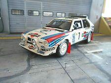 LANCIA Delta S4 Gr.B Rallye Monte Carlo 1986 #7 Toivonen Martini RAR OTTO 1:18