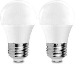 5W LED Refrigerator Light Bulb 40W Equivalent 120V A15 Fridge Waterproof Bulbs