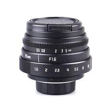 Newyi Mini 35mm F1.6 Aps-C Television Tv Lens/ Cctv Lens For 16mm C Mount Camera