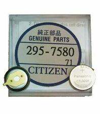 Genuine Citizen Capacitor Battery 295-758 Eco-Drive CTL920, E310, E690M, G920