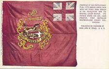 Old Rattlesnake Flag Patriotic Postcard