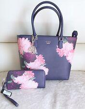 BNWT $284 GUESS LINNEA Handbag Shoulder Bag Satchel Purse Clutch Wallet