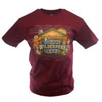 Men's Disney World T-shirt Wilderness Lodge Mickey and Friends Cabin Family Fun