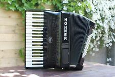 Piano Accordion Hohner Bravo III 72 Bass 34 key 3v SILENT KEY + GigBag Black New