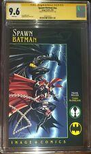 Spawn-Batman #nn CGC SS 9.6 Signed by Frank Miller
