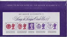 GB 2015 LONG TO REIGN OVER US QEII MINIATURE SHEET PRESENTATION PACK No.516