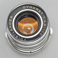 Voigtlander 100mm f4.8 Dynaret for Vitessa T  #4329228 ......... Minty