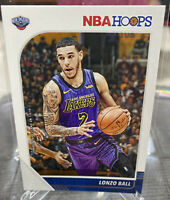 2019-20 Panini NBA Hoops Lonzo Ball Base Card #116 Lakers, New Orleans Pelicans