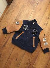 Polo Ralph Lauren 2 ans 24 mois veste manteau agneaux Cuir Bras Baseball