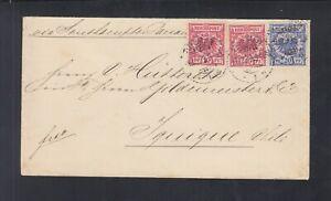 Dt. Reich Covert 1899 Bremen nach Chile