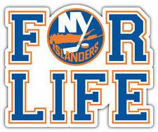 "New York Islanders FOR LIFE 4"" x 4.1/2"" Magnet"