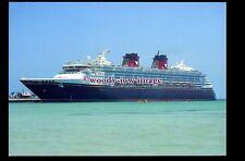 SIM0367 - Disney Cruises Liner - Disney Magic , built 1998 - postcard