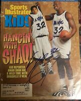 SHAQUILLE O'Neal SIGNED SPORTS ILLUSTRATED  for Kids Cover  Only-May 1996
