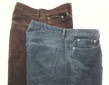 Lot of 2 GAP Corduroy Pants Sexy Boyfriend Crop Blue Gray and Brown Women's 29 R