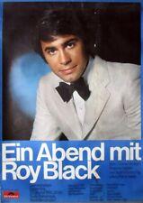 BLACK, ROY - 1969 - Konzertplakat - Concert - Ein Abend mit - Poster - Berlin
