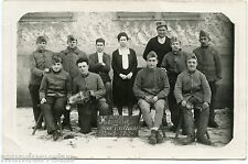 CARTE PHOTO. SERVICE MILITAIRE 26.01.1929. HONNEUR AUX TAILLEURS.