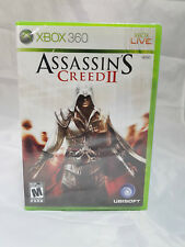 Assassin's Creed II Xbox 360 Brand New Factory Y-Sealed